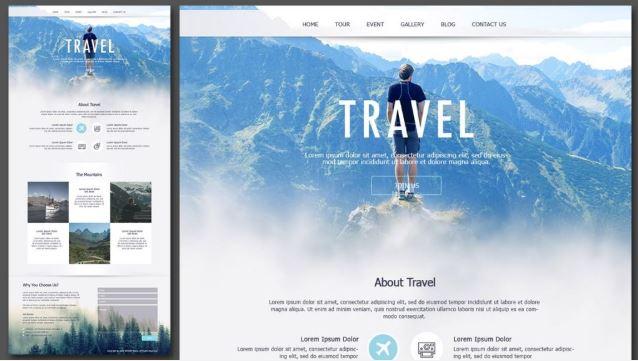 Mẹo thiết kế website du lịch mà không phải ai cũng biết
