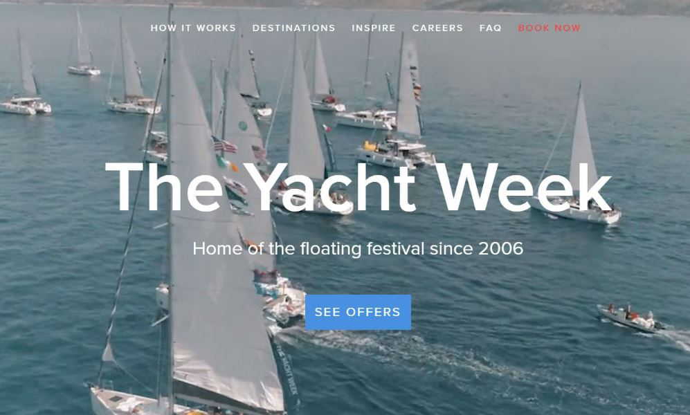 The Yacht Week.