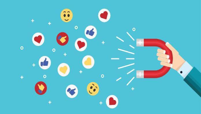 Các nút cảm xúc và bình luận là một tính năng phổ biến trong phương tiện truyền thông xã nội