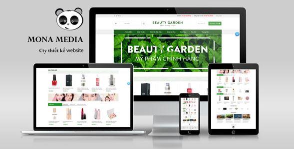 Mẫu website bán hàng chuyên nghiệp.
