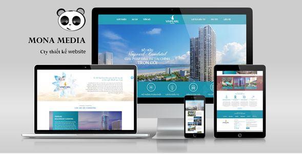 Mẫu thiết kế Website Bất động sản.
