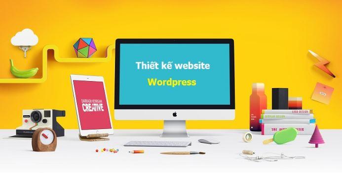Dịch vụ thiết kế website bằng WordPress.