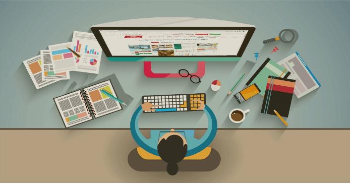 Sử dụng phần mềm hỗ trợ giúp thiết kế website