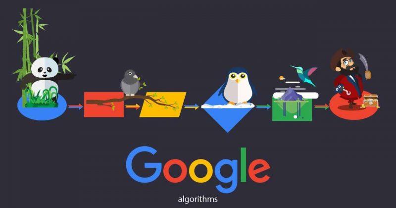 Cách Google tìm kiếm hoạt động và các thuật toán Google ảnh hưởng SEO