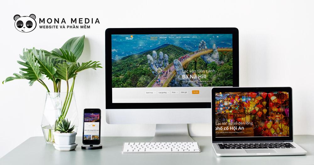 Thiết kế web Travel VN