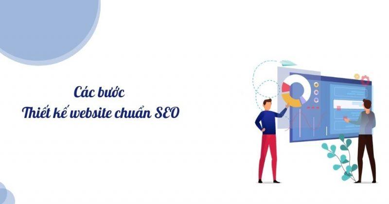 Các bước thiết kế website chuẩn seo