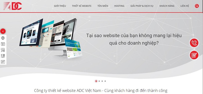 ADC- Công ty chuyên thiết kế web uy tín