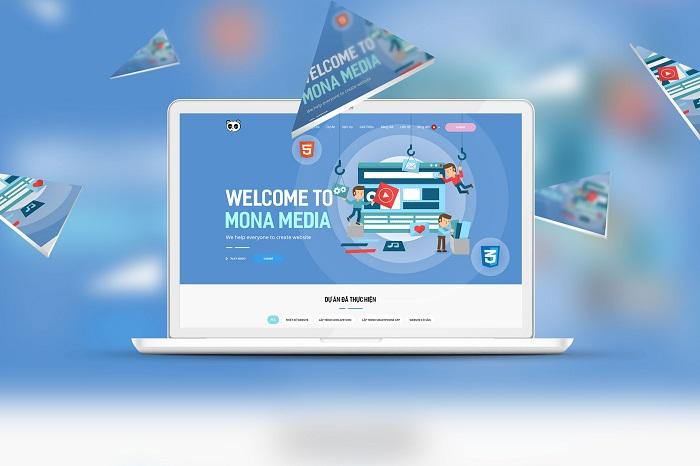 Thiết kế website chuẩn SEO chuyên nghiệp và cao cấp tại Mona Media